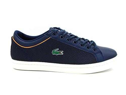 01016t3 45 bianco Blu 3 Sneakers Sport Lacoste Straightset 118 Cam Blu Wqpw8z0