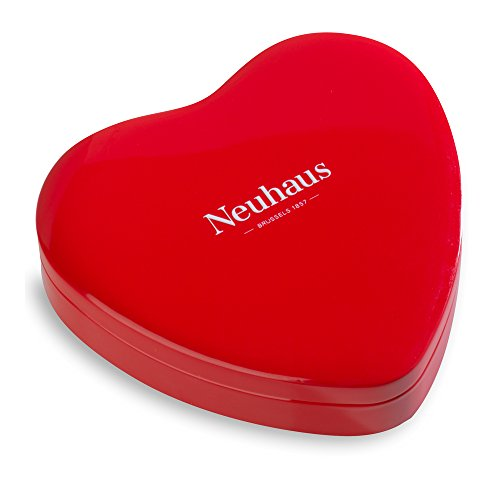 Neuhaus Belgian Chocolate Valentine Red Heart Tin