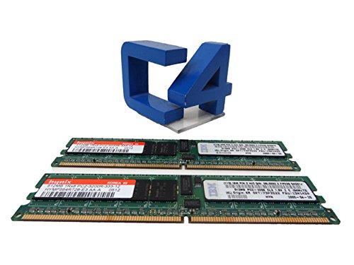 (39M5818 IBM 1GB 400MHZ DDR II 2x512MB 240-PIN PC2-3200 CL3 REGISTERED ECC DIMM)