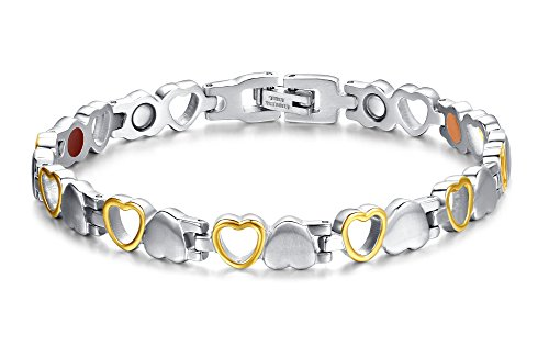 Magnetic Bracelets Stainless Arthritis Adjustable