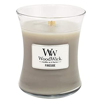 Amazon.com: Woodwick Candle Fireside Medium Jar: Home & Kitchen