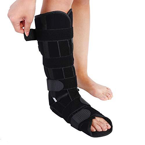 Fijador de fractura de tobillo, adulto Pierna de fijación de protección Médica Soporte de tobillo ajustable Pierna de soporte de pierna Tobillera(M)