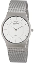 Skagen Men's 233LSS Mesh Bracelet Watch