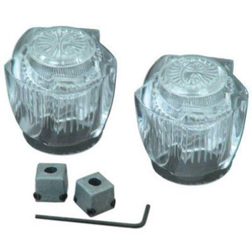 BrassCraft SH3468 Universal Fit Handle Pair for Lavatory/Kitchen/Tub/Shower Faucet - Universal Lavatory