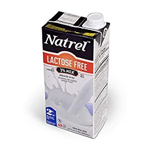 Natrel | 2% Lactose Free Milk | 32 Ounce | Pack of 12 | Shelf Stable Milk | Gluten-Free | Kosher | Non-GMO | No…