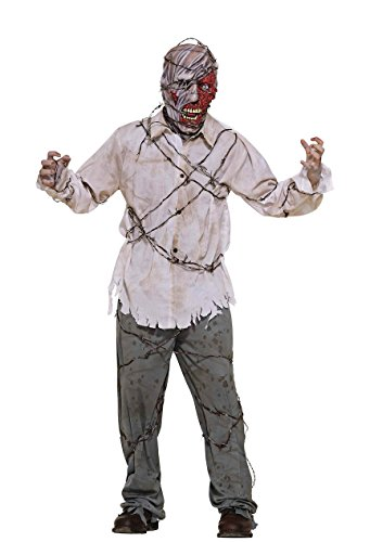 [Forum Novelties Men's Barbed Wire Adult Zombie Costume, Multi, Standard] (Scary Bee Costume)
