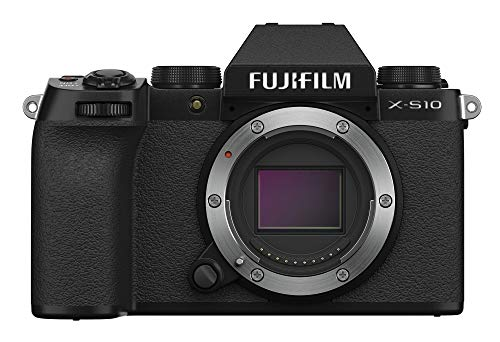 Fujifilm X-S10 Mirrorless Camera Body- Black