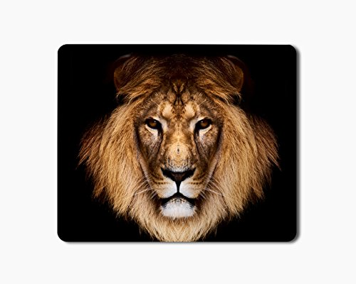 iKraft Mouse Pad 18x22cm Non-Slip Rubber Lion Animal Printed Gaming Mouse Pad Mate for Home Office