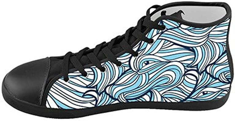 Daniel Turnai Fan Customized Wolf Painting New Sneaker Canvas Shoes for Men