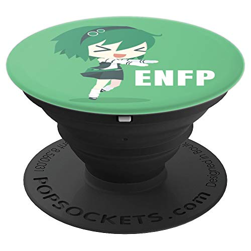 ENFP Campaigner Diplomat Anime Girl - 16 Personality Test - PopSockets Grip and Stand for Phones and Tablets
