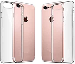 Slim Transparent Ultra-Thin TPU Protective Gel Case Cover For Apple IPhone 7-Clear