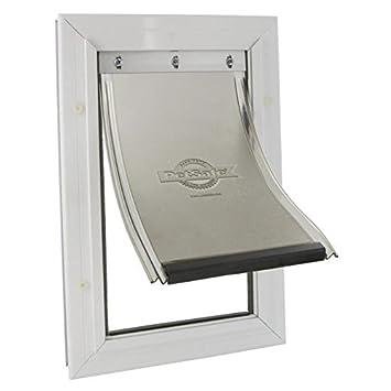 PetSafe Staywell puerta marco de aluminio - blanco - para gato o perro a hasta 18 kg: Amazon.es: Productos para mascotas