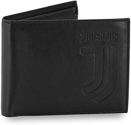 PORTAFOGLI JUVENTUS Squadra Bianconeri Zebrotta Calcio Football Soldi PG12JV-V1
