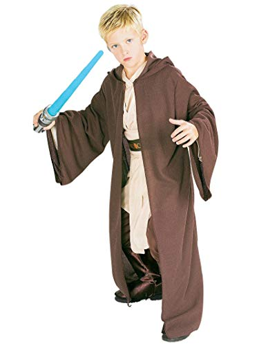 Rubie's Star Wars Classic Child's Deluxe Hooded Jedi Robe, ()
