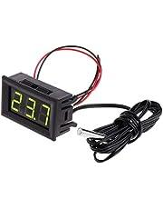 siwetg -50 ~ 110 °C digital LED-termometer DC 5–12 V biltemperaturdisplay