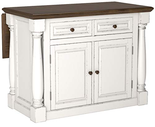 Home Styles Monarch Kitchen Island, Antique White Finish by Home Styles (Image #4)