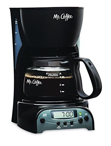 Coffee 4-Cup Programmable Coffee Maker