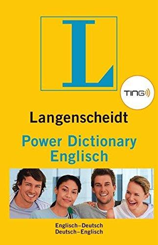 Langenscheidt Power Dictionary Englisch TING - Buch (TING-Ausgabe): Englisch-Deutsch/Deutsch-Englisch (Englisch) Taschenbuch – 3. Februar 2011 Redaktion von Langenscheidt 3468133057 834774 Fremdsprachige Wörterbücher
