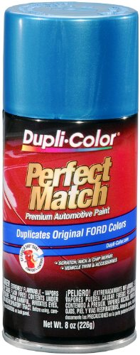 Dupli-Color EBFM03827 Medium Blue Metallic Ford Exact-Match Automotive Paint - 8 oz. Aerosol ()