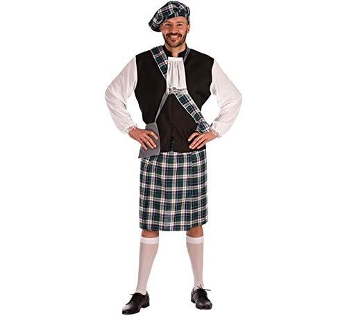 Disfraz de Escocés azul para hombre: Amazon.es: Ropa y accesorios