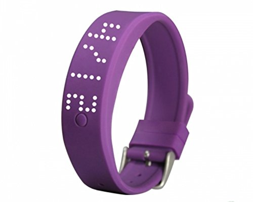 Advista Sports 2018 New Silicone Smart Watch, Pedometer for Kids, Boys and Girls with Bluetooth (Purple)