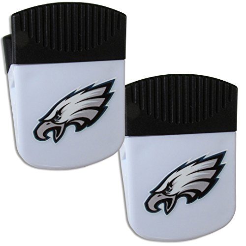 Siskiyou NFL Philadelphia Eagles Chip Clip Magnet with Bottle Opener, 2 Pack ()