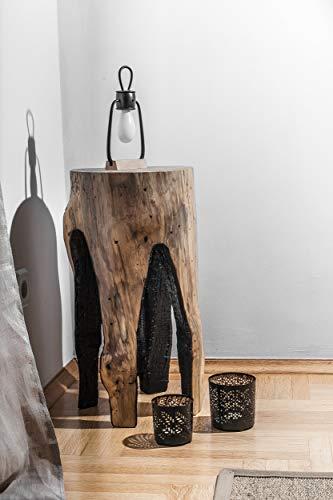Tree Stump Table, Reclaimed Wood Coffee Table, Wood Furniture, Wooden Stool, Rustic Decor, Tea Table ()