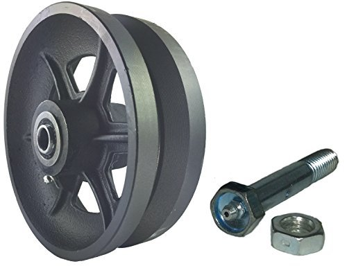 Mapp Caster Sliding Barn Door Cast Iron Wheel Kit 6\ x2\  with 1/2\  Smooth \u0026 Quiet Ball Bearings Amazon.com Industrial \u0026 Scientific  sc 1 st  Amazon.com & Mapp Caster Sliding Barn Door Cast Iron Wheel Kit 6\