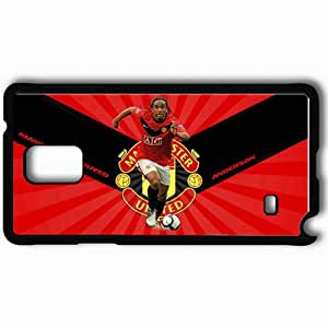 Personalized Samsung Note 4 Cell phone Case/Cover Skin ANDERSON Cristiano Ronaldo Football Black
