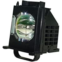 AuraBeam Mitsubishi WD-73735 TV Replacement Lamp with Housing