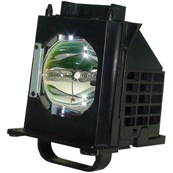 Amazon Com Tv Lamp For Mitsubishi Wd 60735 180 Watt Rptv Rh Amazon Com Mitsubishi  65 DLP HDTV Manual 60 Inch Mitsubishi TV Manual