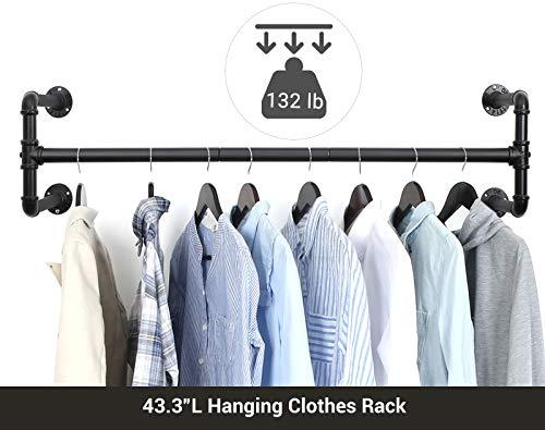 Hanging clothes space saver organizer