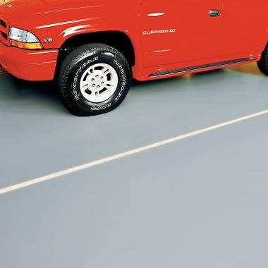 G-Floor Garage/Shop Floor Coverings - 7 1/2ft. x 17ft., Ribbed Design, Sandstone, Model# GF717SA (Ribbed Garage Covering Floor)
