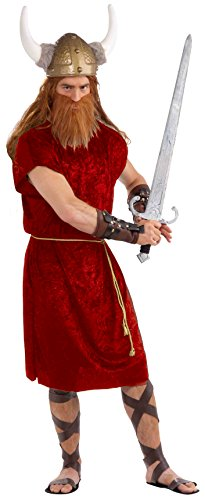 Forum Novelties Men's Gods and Goddesses Tunic, Red, One Size