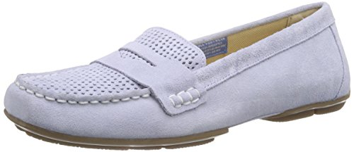 Rockport Shore Bets Ii Loafer Ice Blue SDE Perf Wash, Women's Mocassins Blue - Blau (Ice Blue Sde Perf Wash)