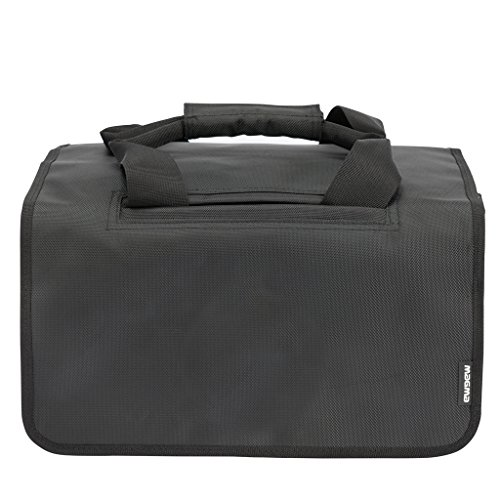 MAGMA 45 150, Black/Khaki DJ Bag (MGA43013) (Best Dj Record Bag)