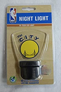 NBA Golden State Warriors LED Nightlight