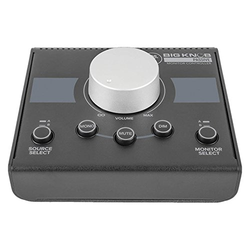 Mackie Big Knob Passive Studio Monitor Controller with 1 Year Free Extended Warranty from Mackie