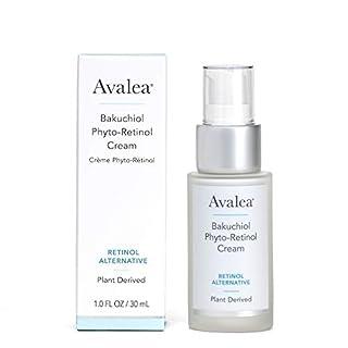Avalea Bakuchiol Phyto-Retinol Cream - Retinol Alternative Face Moisturizer, 1.0 fl oz
