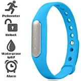 Bingo TW02 Fitness Excercise Band Built In With 3 Indicator Lights- BLUE