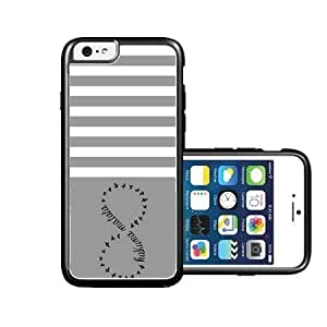 Dpoly iphone 6 case hakuna-matata Purple plain white iPhone 6 Case Fits NEW Apple iPhone 6 hjbrhga1544