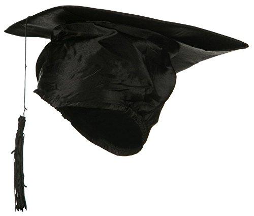 Schoolboy Q Costume (Black Graduation Hat Cap with Black Tassel)