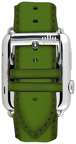 ullu Apple Watch Band for Series 1 & Series 2 in Premium Leather - Lime - UAWS38SSVT93 by ullu (Image #5)