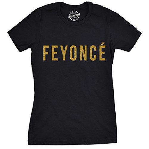 Womens Feyonce Tshirt Funny Bachelorette Party Tee Gold