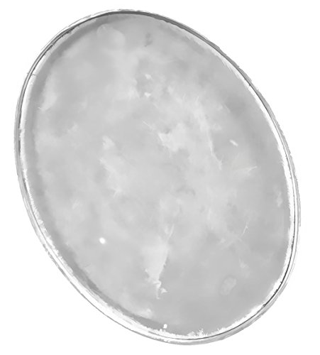 Sterling Silver 15mm x 20mm Oval Bezel Cup Setting Closed Back (Qty=1)