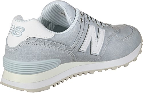 New Balance Womens 574v2 Sneaker Light Porcelain Blue/White bxOpYTZw