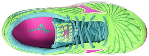 Laufschuhe Womens Multicolor Ceramic Electric Mizuno Hitogami W Greengecko qASUt