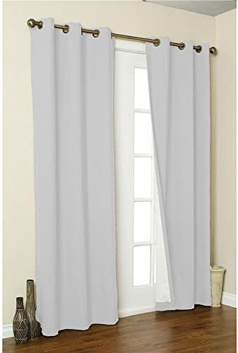Insulating Curtains – Grommet Top – Pair