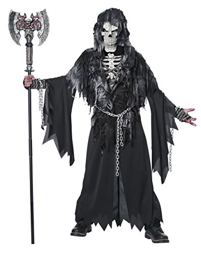 Boy Scary Costumes - California Costumes Evil Unchained Costume, One