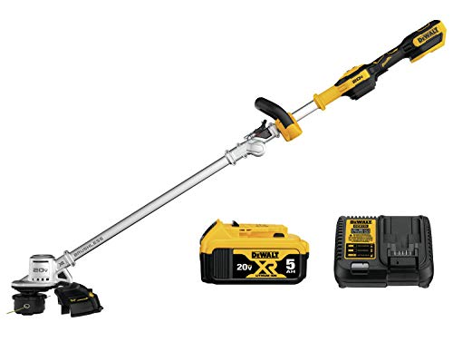 DEWALT 20V MAX String Trimmer Kit, 5-Ah (DCST922P1)